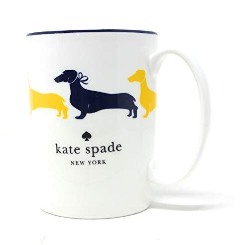 Wickford Mug - Kate Spade New York Wickford Dachshund Yellow Mug 10oz