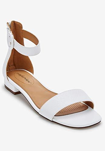 Comfortview Womens Plus Size Alora Sandals