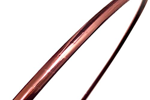 SpinMajik Dance Hula Hoop for Fun, Fitness and Performance (Rose Gold)