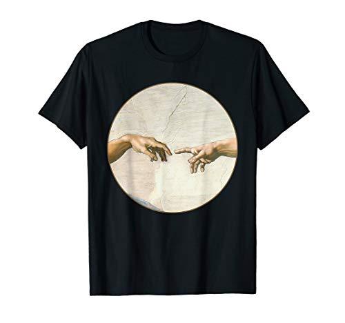 - Michelangelo Creation of Adam Sistine Chapel T-Shirt