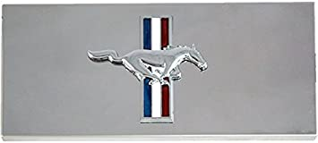 2005-2009 Mustang Polished Stainless Fuse Box Cover GT Emblem