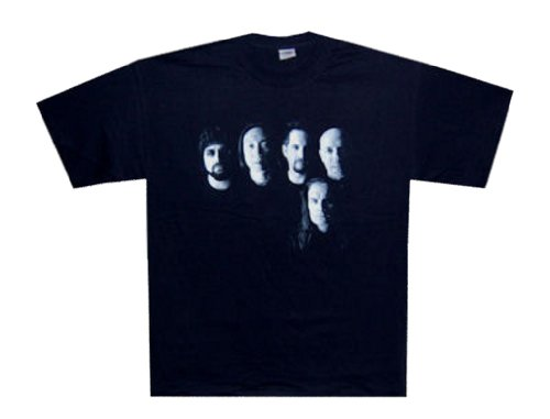 - DREAM THEATER - Black And White Photo Tour - Black T-shirt - size XL