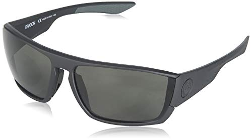Dragon Alliance Cutback P2 Polarized Sun Glasses for Men/Women, Smoke (Sunglasses Dragon Polarized)