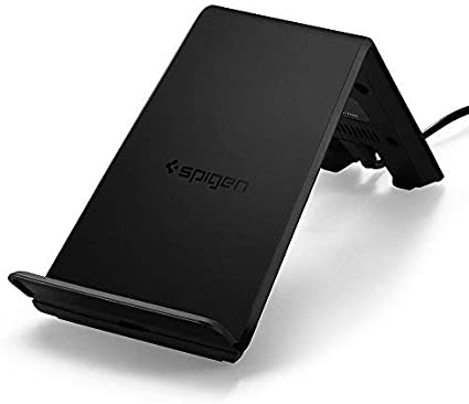 Adapter NOT Included Spigen Wireless Charger Fast Qi Certified 10W Charging Pad Works with iPhone 11//11 Pro//11 Pro Max//Xs MAX//XR//XS//X//8//Plus//Galaxy S10//S10 Plus//Note 10//S9//S8 /& Other Qi Devices