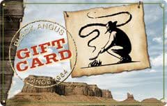 Black Angus Standard Gift Card