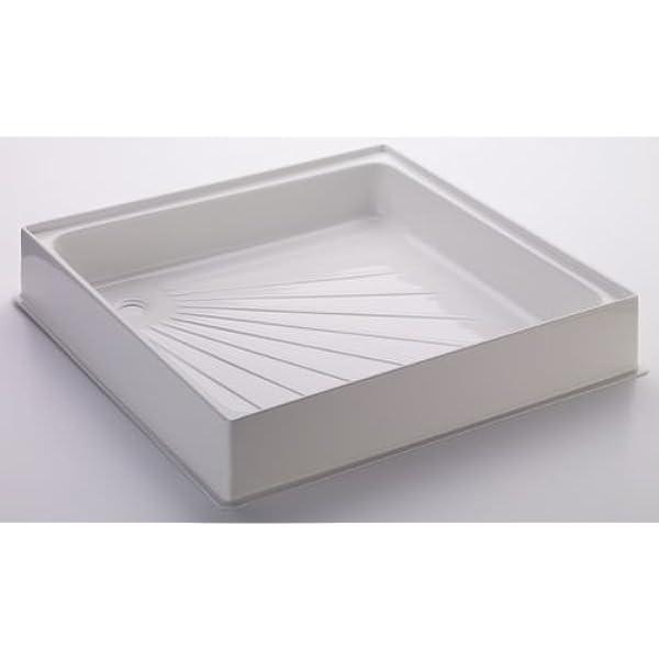 Brunner 300606 - Plato de ducha de plástico duro, Blanco, 60 x 60 x 10 cm: Amazon.es: Deportes y aire libre