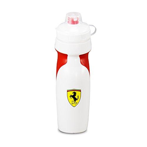 Ferrari Premium Squeeze Sports Water Bottle Deluxe Version (White and - White Scuderia Ferrari