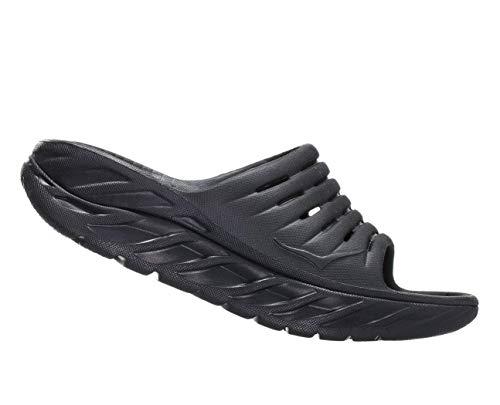 HOKA ONE ONE Womens ORA Recovery Slide 2 Black/Black Sandal - 10 from HOKA ONE ONE