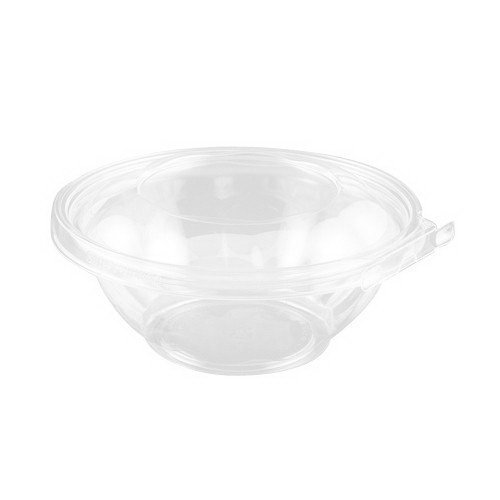 Inline Plastics Safe-T-Fresh Polyethylene Tamper Resistant Round Food Container Clear, 24 oz. | 150/Case