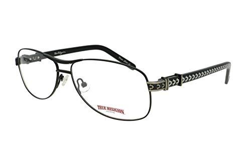 TRUE RELIGION Colt Eyeglasses Black Optical ()
