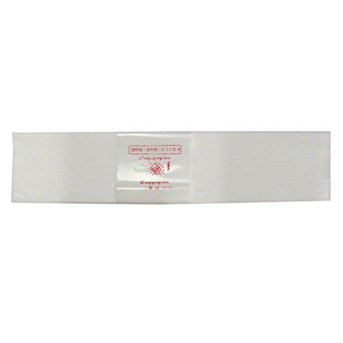 50cm x 250cm White Alberts Large Crepe Paper