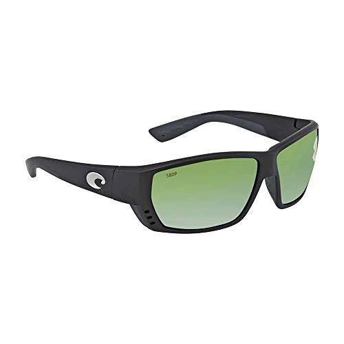 Price comparison product image Costa Del Mar Tuna Alley 580P Tuna Alley,  Black Green Mirror,  Green Mirror