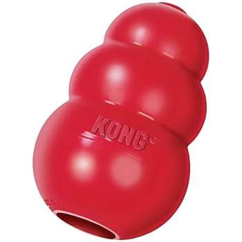 KONG Classic Dog Toy, Medium, Red