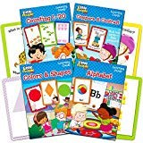 Fisher Price Flash Cards Super Set for Toddlers Kids -- 4 Packs (ABC Flash Cards, Numbers Flash Cards, Colors and Shapes, Compare and Contrast)
