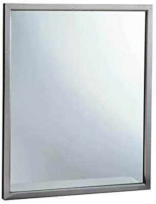 Bobrick - B-2908 1830 - 18 in by 30 in Welded Frame Mirror with Tempered Glass