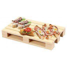 DS – PZ 1 bandeja forma plataforma Servi aperitivos tabla de cortar pan Bar Pub 20