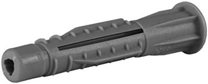 HNY 2100800/ Type N/œud avec long cou pour tout type de mur polypropyl/ène, 5/x 60/mm /Pack de 100/chevilles de fixation NP