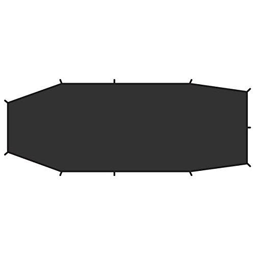 FjällRäven Endurance 2 footprint - Verstärkungsboden für Keb Endurance 2 und Abisko Endurance 2 aus robustem, wasserdichtem Nylon. Schützt den Zeltboden bei steinigem oder unebenem Untergrund vor Abrieb und Schäden.