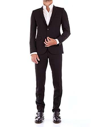 Amazon.com: FRADI 181AJ800181TN5371negro traje de lana para ...