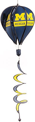 BSI NCAA Michigan Wolverines Hot Air Balloon Spinner ()