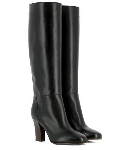NW0S0E76VXS0N0 Cuir Bottes Noir Femme Valentino tqfw5n7