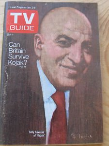 Guide 1976 Tv - TV Guide January 3-9, 1976 (Telly Savalas: Can Britain Survive Kojak?, Volume 24, No. 1, Issue #1188)