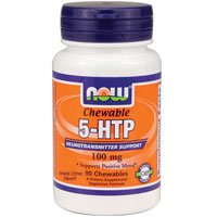 Now Foods 5-HTP 100 mg - 90 Chewables 6 Pack by Now-Food
