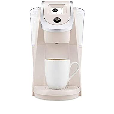 Keurig K250 Coffee Maker, Single Serve K-Cup Pod Coffee Brewer, With Strength Control, Sandy Pearl