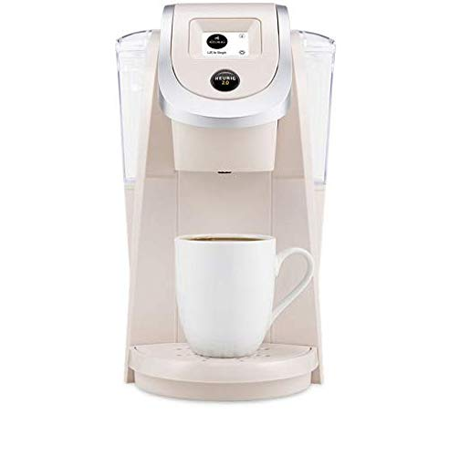 Keurig K250 Single Serve, K-Cup Pod Coffee Maker with Strength Control, Sandy Pearl ()