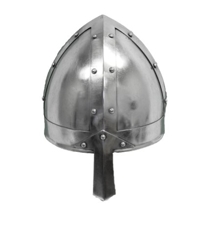[RedSkyTrader Mens Norman Warrior Helmet One Size Fits Most Silver] (Lady Thor Costumes)