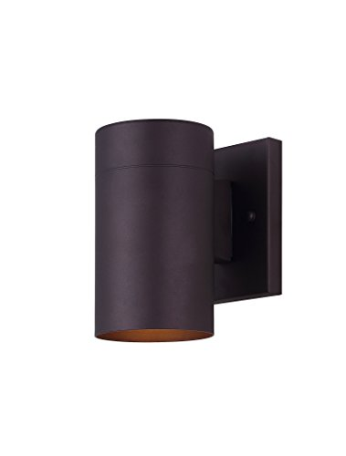 Canarm IOL211ORB Night Sky Outdoor Light, Oil Rubbed Bronze (1 Downlight Wall Sconce)