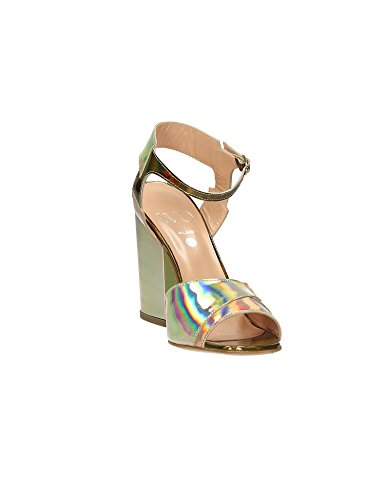 Wo Milano T41 Sandales femmes Multicolore, Taille 1