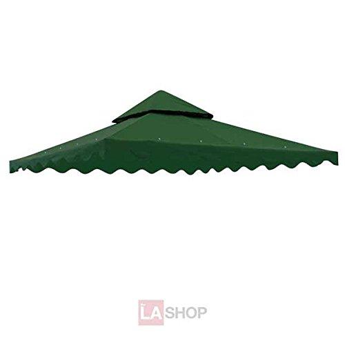 Green Color 10 Square Feet Garden Canopy Gazebo Replaceme...