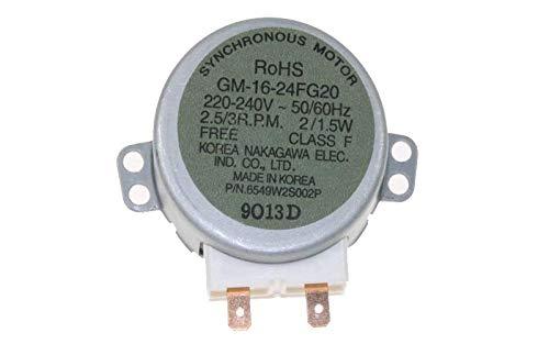 LG - Motor - Plato giratorio gm1624fd - 6549 W2s002p para ...