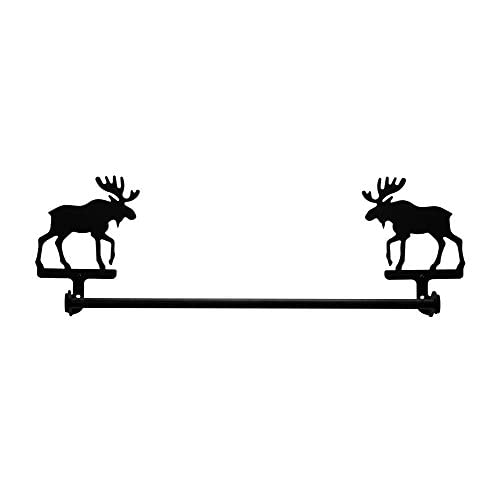 "Iron Small 18"" Moose Towel Rack Bathroom Towel Ral - Heavy Duty Metal Bathroom Hanger, Towel Drying Rack, Towel Holder, Towel Bars, Indoor Ourdoor Towel Rack 70%OFF"
