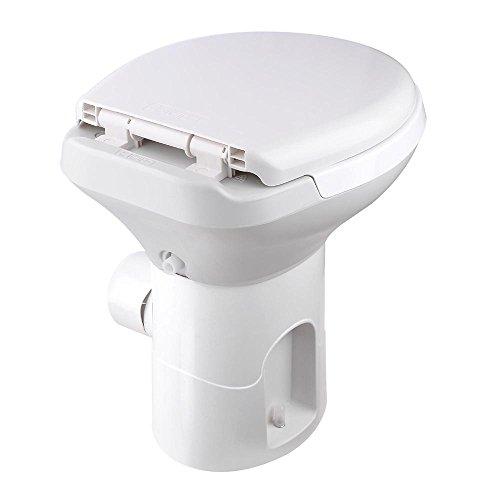 AW Gravity Flush Toilet RV Toilet Foot Pedal Flush HDPE 20\