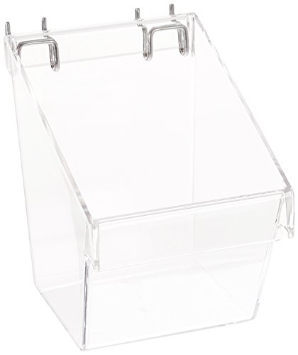 Azar Displays 556117 Small Bucket (Pack of 4) by Azar Displays