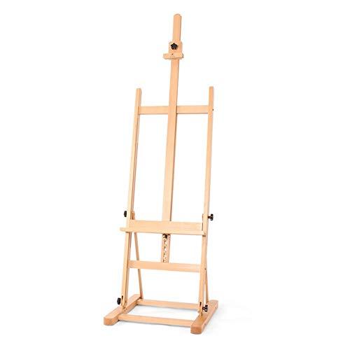 Easels YY Artist's Wooden Studio Art, Adjustable Standing Studio Floor Professional Art Drawing Supplies Racks from Easels