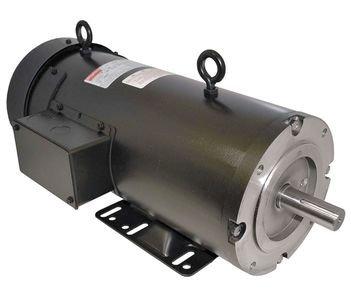 DC Motor, PM, TEFC, 1-1/2 HP, 1750rpm, ()