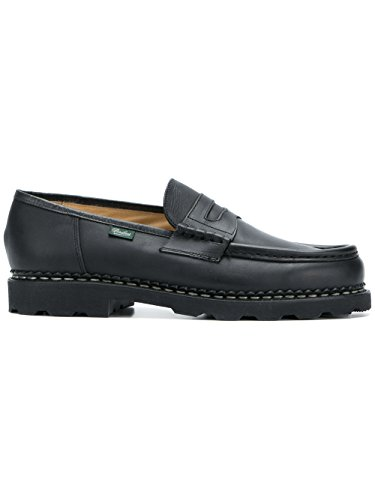 Paraboot Men's 099412LISNOIR Black Leather Loafers outlet low price fee shipping 2014 newest cheap online shop for for sale discount authentic SKTmPiSn