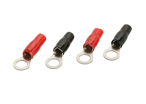 (Scosche X2RTC8-4 8 Gauge Ring Terminals 4 Pack)