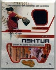 2003 Fleer Authentix Game Jersey #LB Lance Berkman Jsy Near Mint/Mint