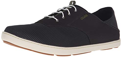 OLUKAI Men's Nohea Moku Shoes Black/Black 14