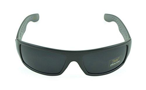 Belle Donne- Gangster Sunglass Hardcore Dark Lens Sunglasses Men Women - Gray (Gangster Sunglasses)
