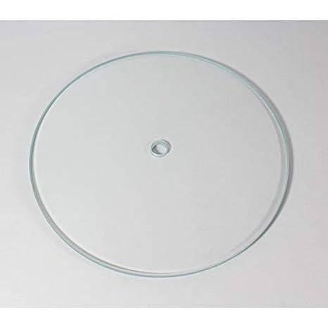 Rega Planar - Plato de Cristal para Tocadiscos P2, RP3, P3-24, P5 ...