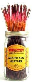 Mountain Heather - 100 Wildberry Incense Sticks (Mountain Heather)