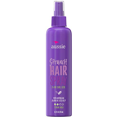 - Aussie Sprunch Hair Spray, Fixatif Flexible Hold 8.5 oz (Pack of 6)