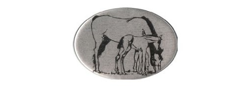 Knockout 665H Horse with colt Hitch Cover