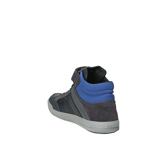 Geox J Arzach C, Zapatillas Para Niños Gris