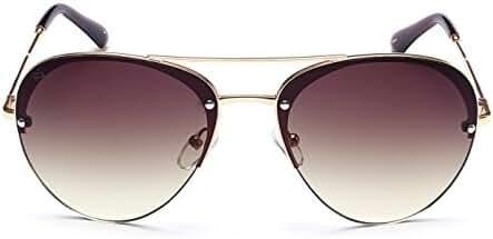 "PRIVE REVAUX ""The Warrior"" Handcrafted Designer Aviator Sunglasses"